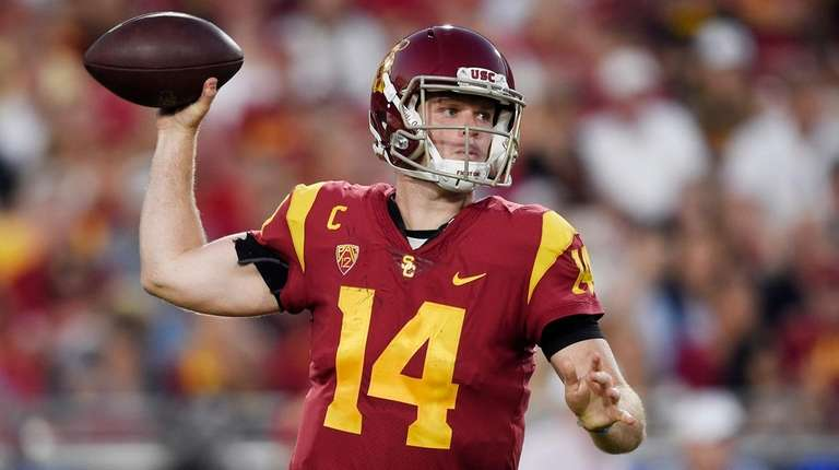 Sam Darnold: 'It would be amazing' if Giants drafted me