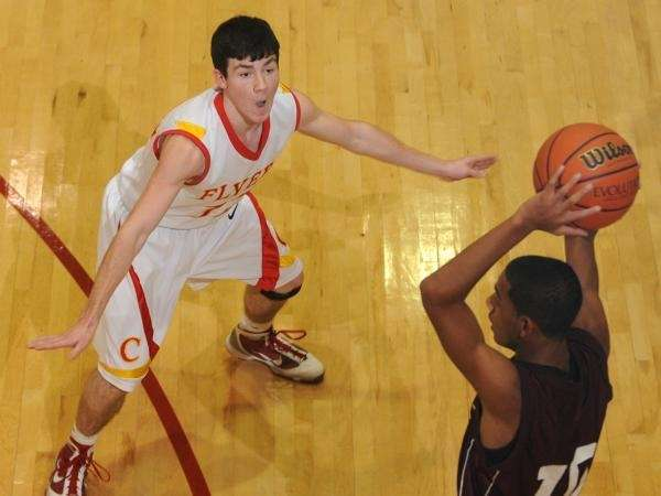 Chaminade High School junior guard #12 Kevin Sheehy,