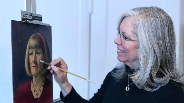 For Suzie Alvey, 65, her painting and art