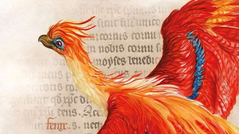 The Phoenix, a magical creature from the