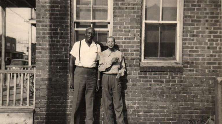 Marnie Hazelton's great-grandfathers Johnsie Cockey, left, and Earl