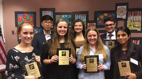 Seven Long Island students were named best-in-category winners