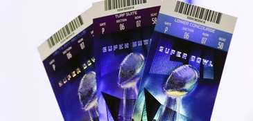 Super Bowl 52 tickets on Thursday, Feb. 1,
