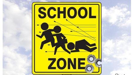 Tom Stiglich cartoon about school shootings.