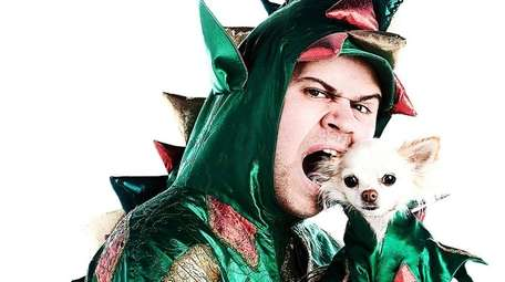 Piff the Magic Dragon, with his dog, Mr.