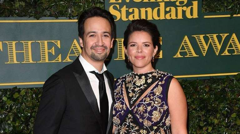 Lin-Manuel Miranda and wife Vanessa Nadal have welcomed
