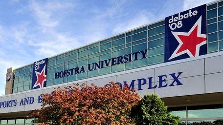 Hofstra University hosted a debate between U.S. presidential