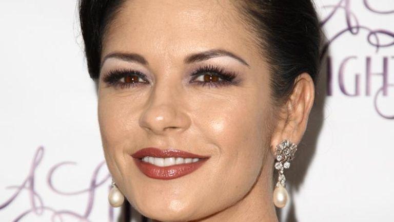 Actress Catherine Zeta-Jones attends the Broadway opening after