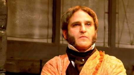 Jeffrey Sanzel as Scrooge in Charles Dickens'