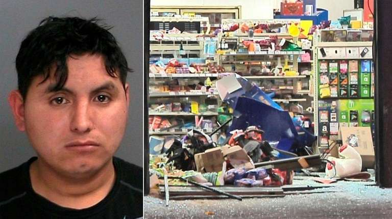 Man driving drunk crashed into 7 eleven police say newsday for 7 eleven islip terrace