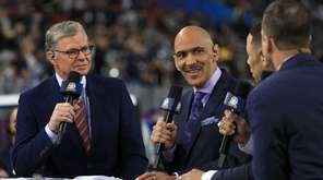 NBC Sports personalities Dan Patrick and Tony Dungy