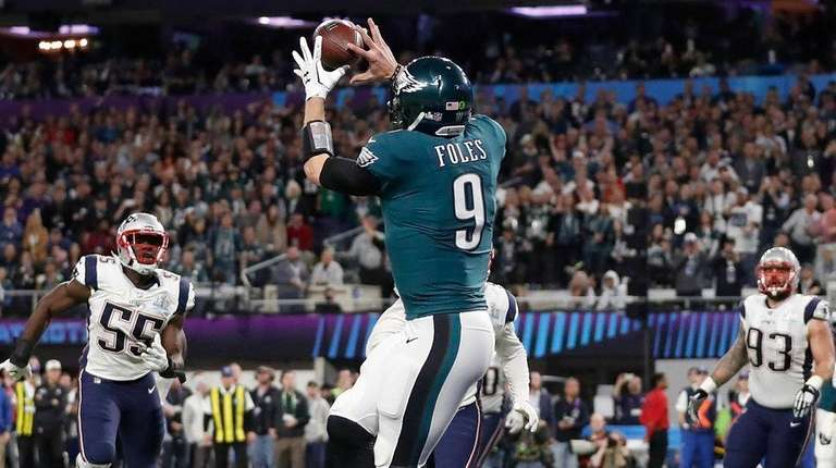 Image result for nick foles touchdown catch