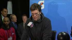New England Patriots Quarterback Tom Brady says the