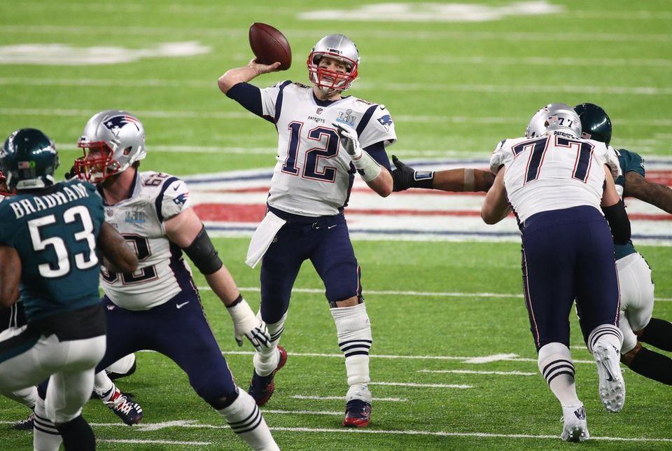 TOM BRADY 505 yards, Feb. 4, 2018 Brady
