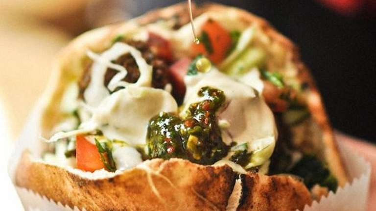 BBD's will be serving pitas filled with gyro-spiced