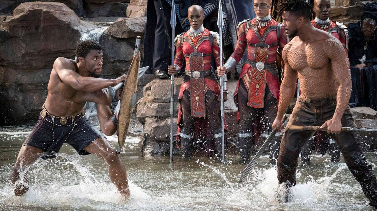 Killmonger Becomes King (Black Panther).
