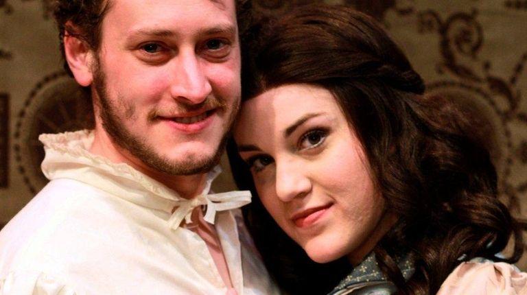 Andrew Murano and Katie Ferretti star in the