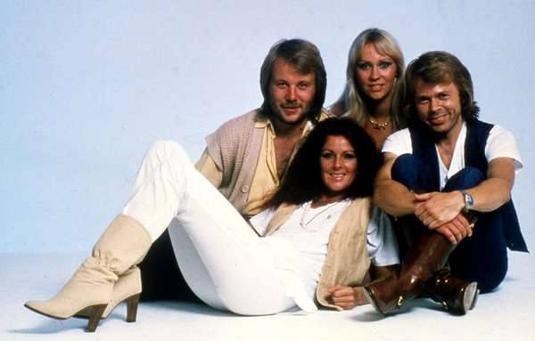 This 1977 file photo shows members of Swedish
