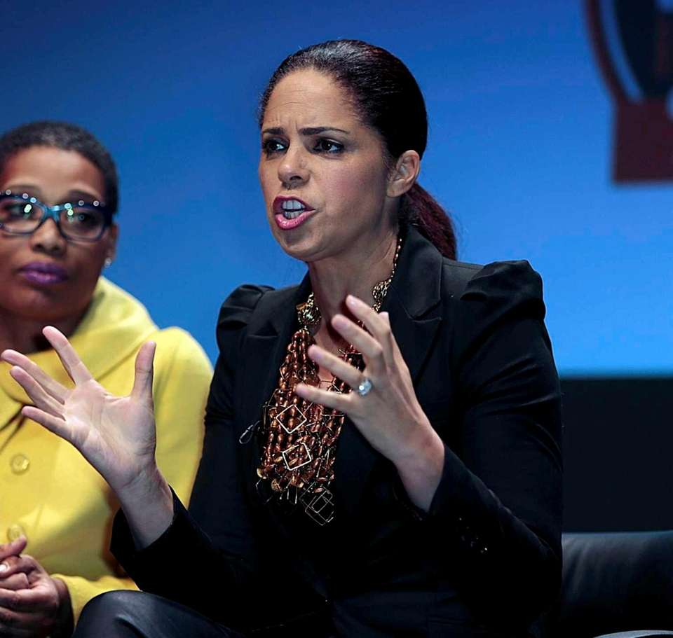 Journalist Soledad O'Brien grew up in St. James,