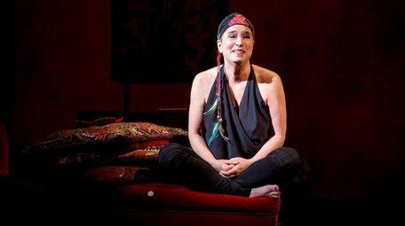 Eve Ensler performs her memoir