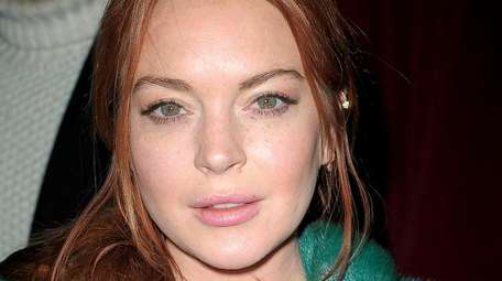 Lindsay Lohan in February 2017.