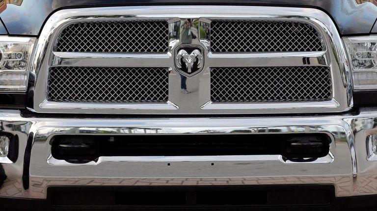 A Dodge Ram 3500 pickup truck.