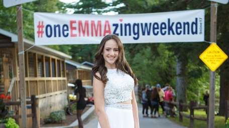 Kidsday reporter Emma Shield at her bat mitzvah