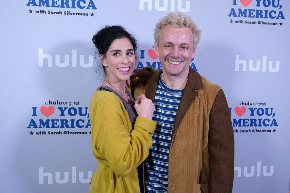 Actress-comedian Sarah Silverman says she and Welsh actor