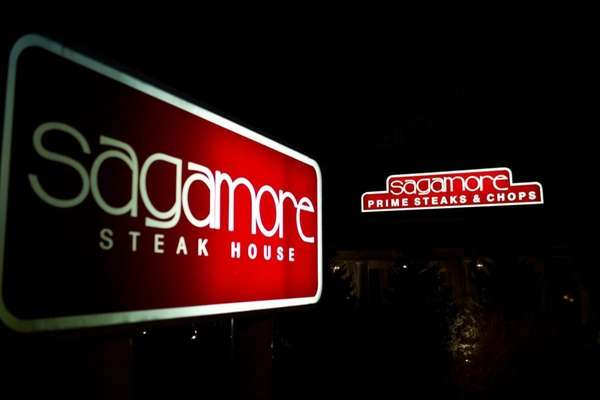 Patrons enjoy a night out at The Sagamore