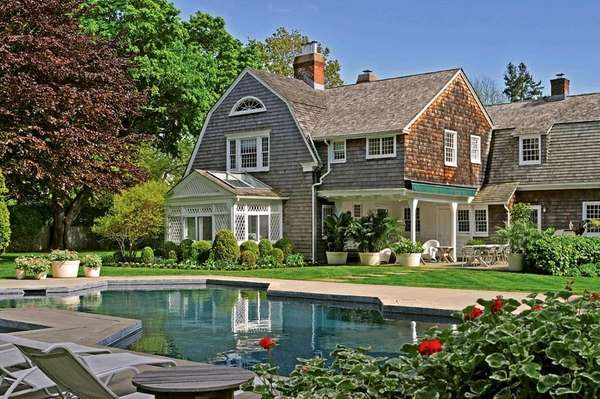 A historical home in East Hampton.