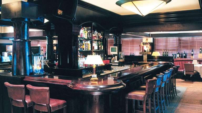 This undated photo shows the bar at Burton