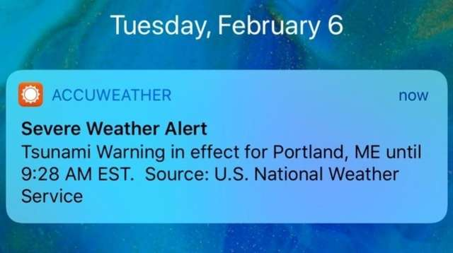 Accuweather Vs National Weather Service Over Tsunami Warning Newsday