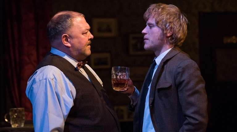 Mark Addy and Johnny Flynn square off in