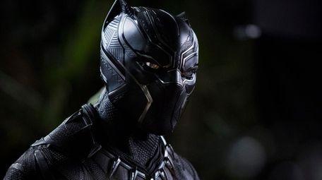 Chadwick Boseman as T'Challa in