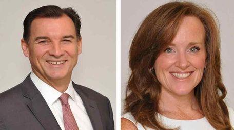 Rep. Thomas Suozzi (D-Glen Cove) and Rep. Kathleen