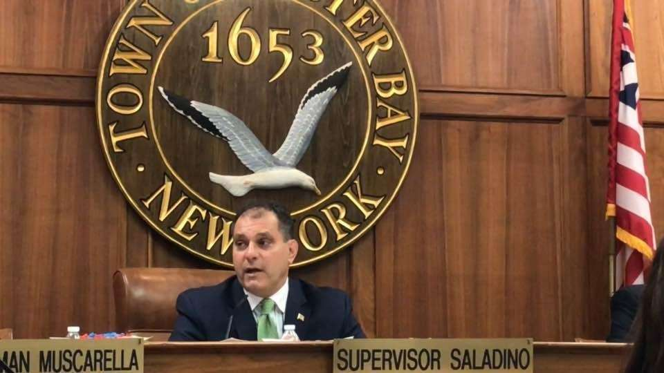 The Oyster Bay Town Board postponed a vote