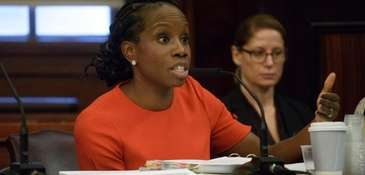 New York City Housing Authority chairwoman Shola Olatoye,