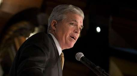 Suffolk County Executive Steve Bellone in January.