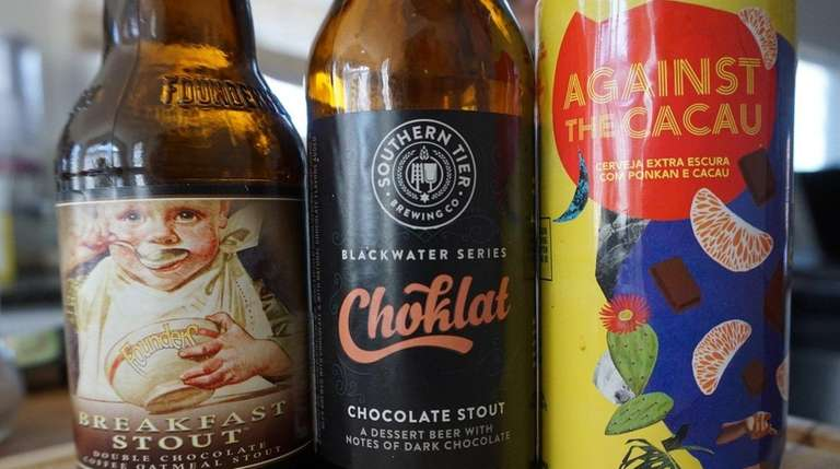 These three chocolate beers are a liquid alternative