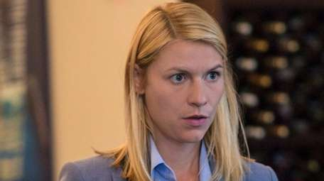Claire Danes stars as Carrie Mathison in