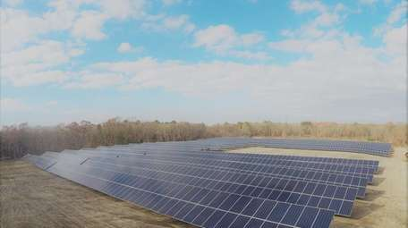 LIPA's first community solar project is located on