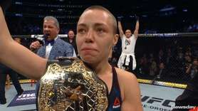 Rose Namajunas, UFC strawweight champion, sat down with Newsday