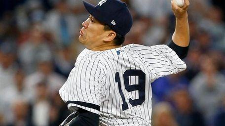 Masahiro Tanaka threw seven shutout innings in a