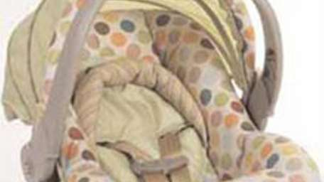 About 447,000 Dorel infant car-seat carriers are being