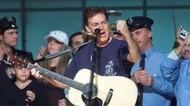 The benefit organized by Paul McCartney following the