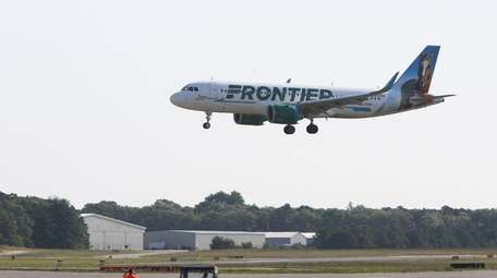 Frontier Airlines announces flights from Long Island to