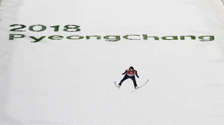 Russian ski jumper Avvakumova aims for medal at 2018 Olympics