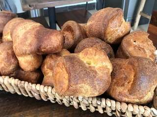 Popovers are a specialty at Heritage Bakers in