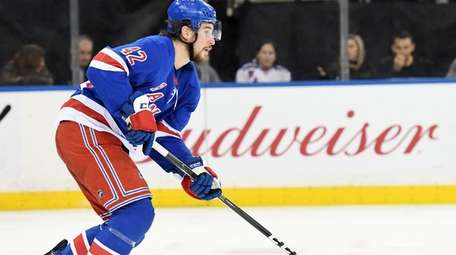 Brendan Smith of the New York Rangers during
