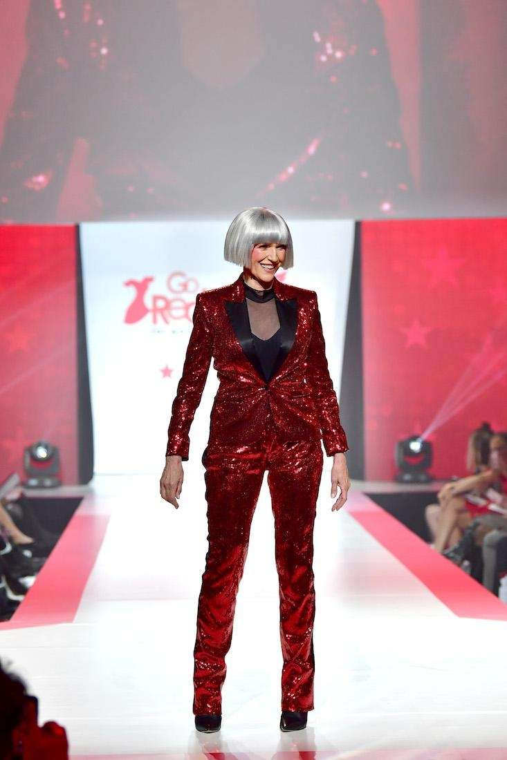 Model and dietitian Maye Musk walks the runway